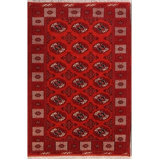 "Hand Knotted Wool Oriental Balouch Persian Carpet Area Rug - 7'6"" x 5'2"""