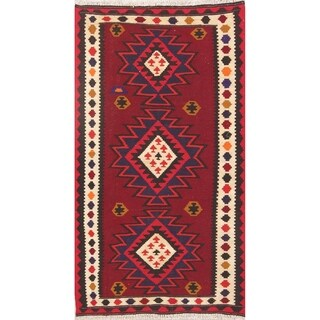 """Copper Grove Fredensborg Hand Woven Wool Geometric Persian Rug For Bedroom - 5'10"""" x 3'3"""" runner"""