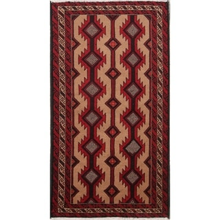 Copper Grove Xylotymbou Hand-knotted Geometric Wool Area Rug - 5'8 x 3'3