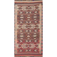 "Copper Grove Humlebaek Hand Woven Wool Geometric Persian Rug - 5'9"" x 3'2"" runner"