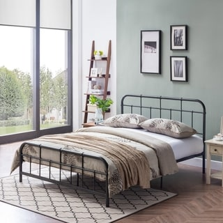 Berthoud Industrial Bed Frame by Christopher Knight Home