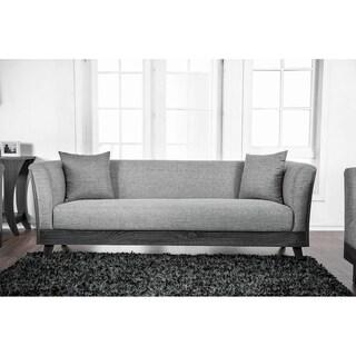 Carbon Loft Jenji Upholstered Grey Sofa
