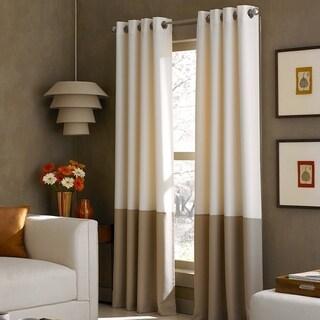 Kendall Colorblock Grommet Curtain Panel
