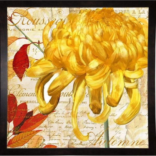 "Chrysanthemes II-COLBAK119618 Print 24""x24"" by Color Bakery"