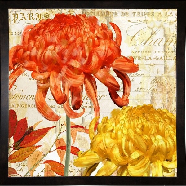 "Chrysanthemes I-COLBAK119617 Print 24""x24"" by Color Bakery"