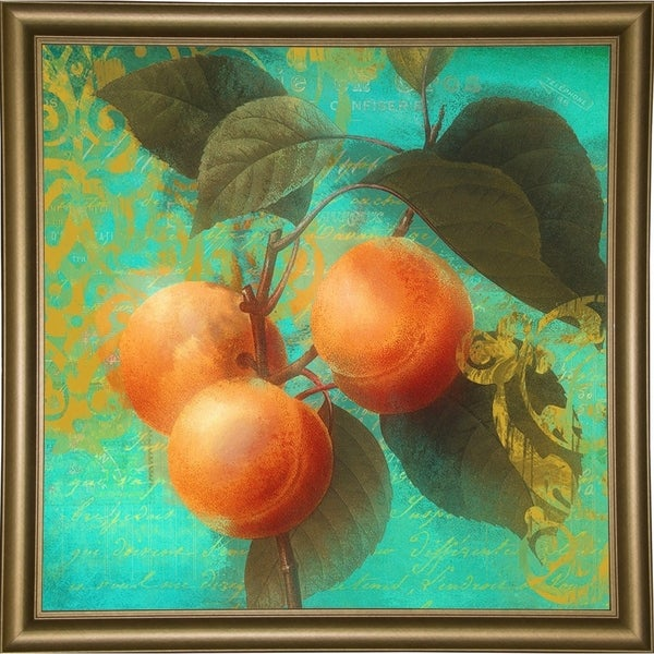 "Glowing Fruits II-COLBAK120198 Print 20""x20"" by Color Bakery"