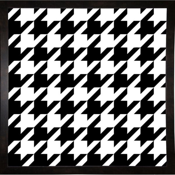 """Houndstooth II-COLBAK124523 Print 26""""x26"""" by Color Bakery"""