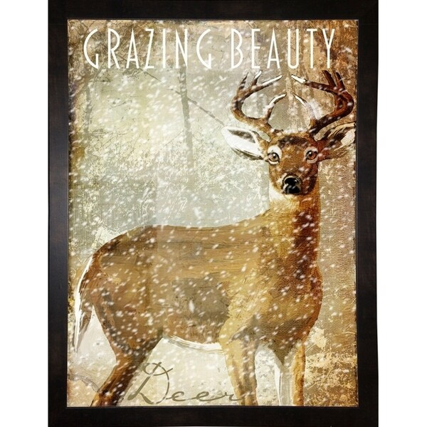 """Winter Game Two-COLBAK125508 Print 24""""x18"""" by Color Bakery"""