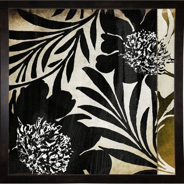 """Floral Jungle Lines I-COLBAK111198 Print 24""""x24"""" by Color Bakery"""