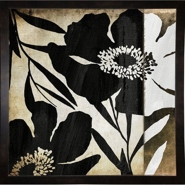 """Floral Jungle Lines II-COLBAK111199 Print 24""""x24"""" by Color Bakery"""