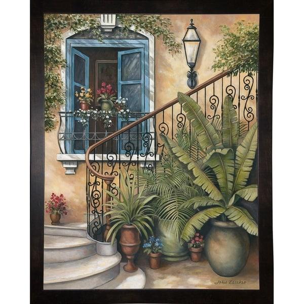 """Stairway To The Sky-JOHZAC87250 Print 32.5""""x25.5"""" by John Zaccheo"""