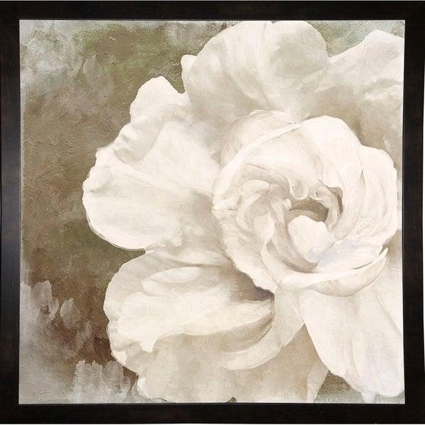 """Petals Impasto II-COLBAK111727 Print 20""""x20"""" by Color Bakery"""
