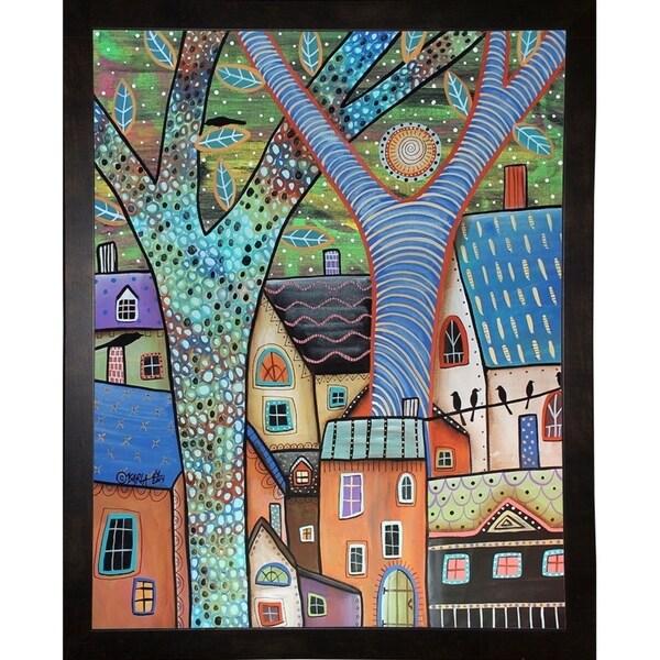 "Dwellings-KARGER135631 Print 9""x7"" by Karla Gerard"