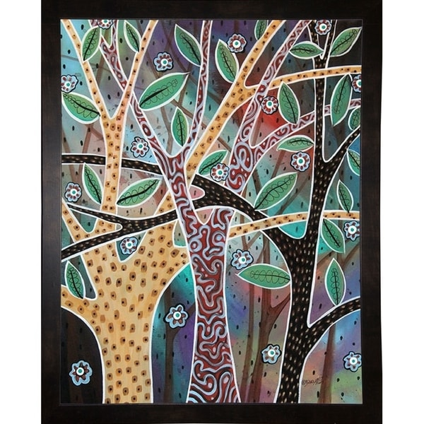 """Nifty Trees 1-KARGER138304 Print 11.5""""x9"""" by Karla Gerard"""