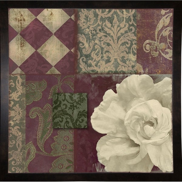 """Patch Work Brocade II-COLBAK112298 Print 20""""x20"""" by Color Bakery"""