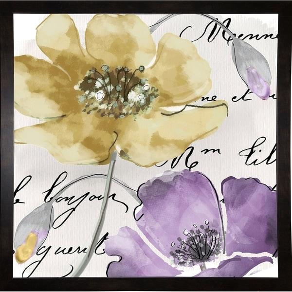 "Fleurs de France II-COLBAK113518 Print 20""x20"" by Color Bakery"