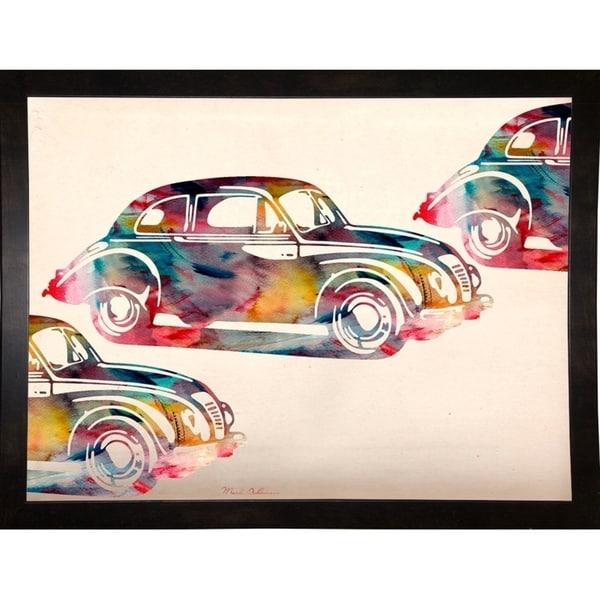 "Folsfagen Car-MARASH129487 Print 23.25""x31.25"" by Mark Ashkenazi"