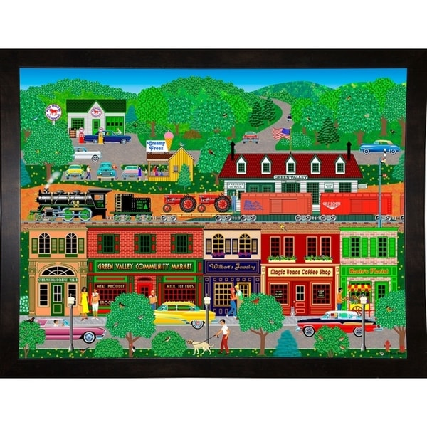"""Green Valley-MARFRO77712 Print 24.5""""x32.5"""" by Mark Frost"""