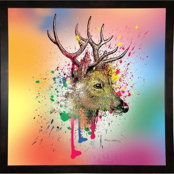 "Deer 6-MARASH141595 Print 23.25""x23.25"" by Mark Ashkenazi"