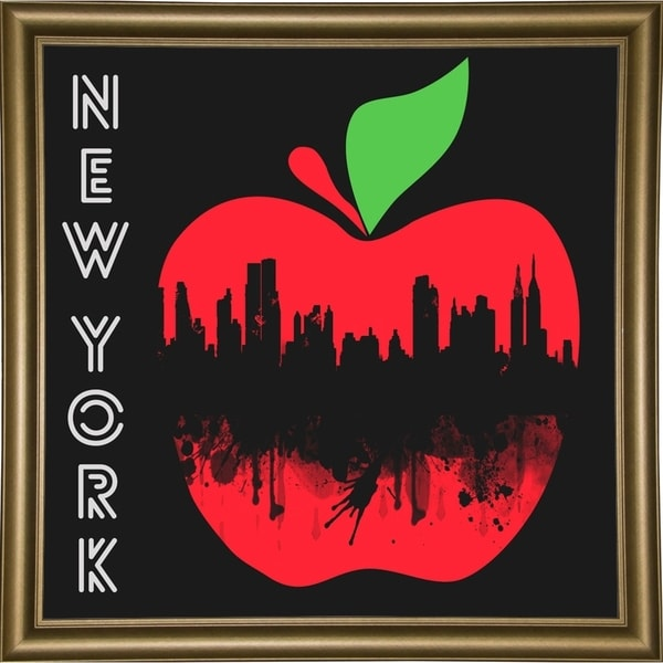 "New York 4-MARASH143656 Print 26.75""x26.75"" by Mark Ashkenazi"