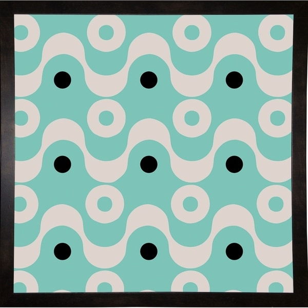 "Fifties Patterns II-COLBAK115945 Print 24""x24"" by Color Bakery"