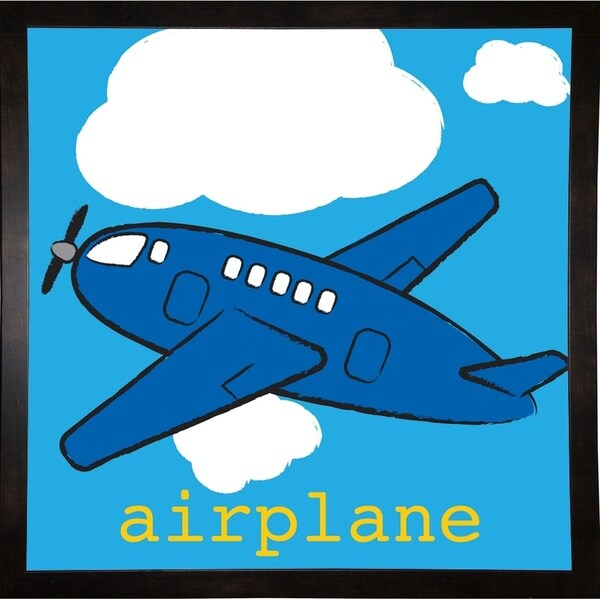 "Airplane-MELPAR103624 Print 20""x20"" by Melanie Parker"