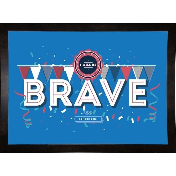 "Brave-KAVCOM114902 Print 19.75""x27.5"" by Kavan and Company"