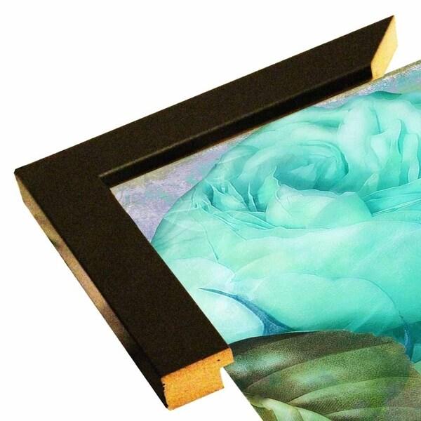 "Aqua Rose I-COLBAK117560 Print 24""x24"" by Color Bakery"