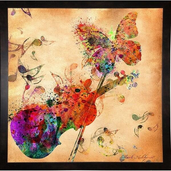 "Love-Music-Mark-Ashkenazi-MARASH129513 Print 13.25""x13.25"" by Mark Ashkenazi"