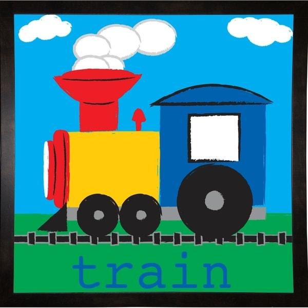 "Train-MELPAR103635 Print 20""x20"" by Melanie Parker"