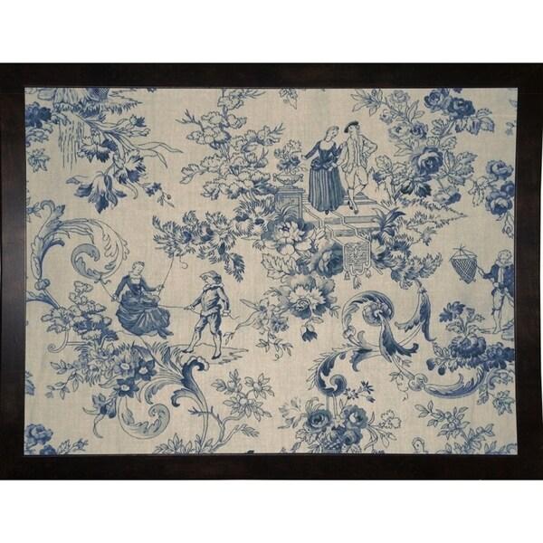 "Toile Fabrics I-COLBAK119119 Print 15""x20"" by Color Bakery"