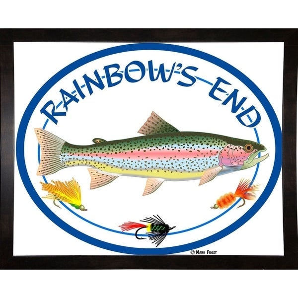 """Rainbow's End-MARFRO130436 Print 18.25""""x23"""" by Mark Frost"""