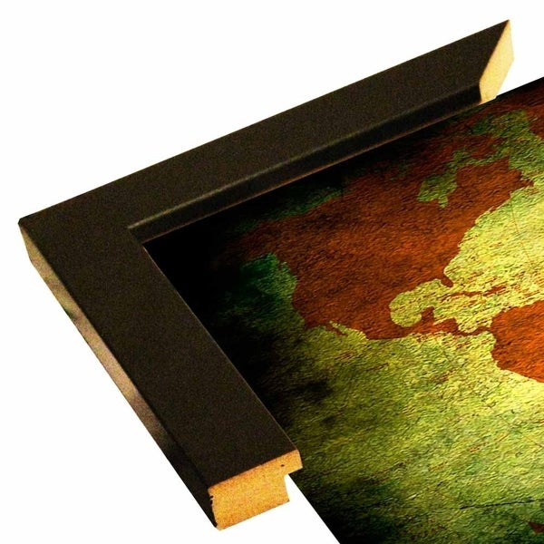 "Map Of The World10-MARASH129519 Print 17""x28"" by Mark Ashkenazi"