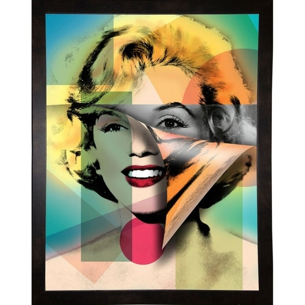 "Marilyn 4-MARASH141607 Print 21.5""x16.75"" by Mark Ashkenazi"