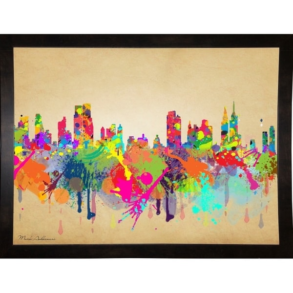 "New York 1-MARASH143653 Print 20""x26.75"" by Mark Ashkenazi"