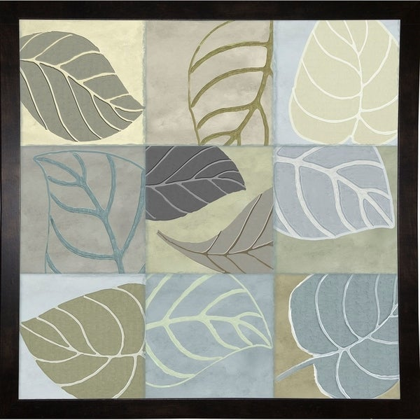 """Leaf Story IV-COLBAK114899 Print 24""""x24"""" by Color Bakery"""