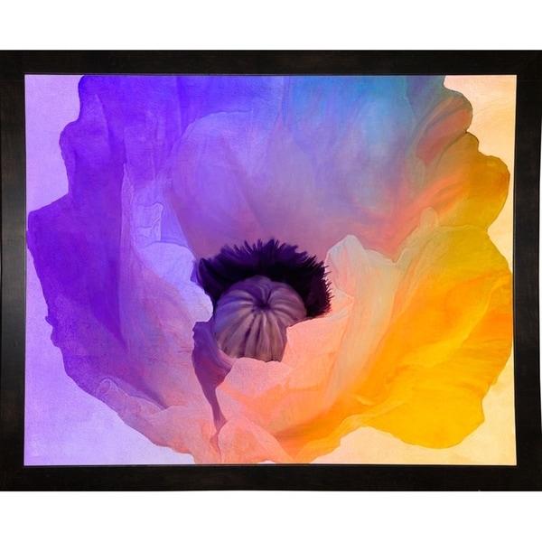 "Poppy Gradient III-COLBAK116047 Print 13.5""x17"" by Color Bakery"