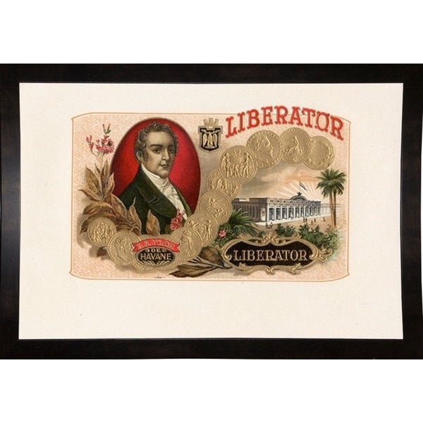 "Liberator-ARTCIG64621 Print 14.75""x21.75"" by Art of the Cigar"