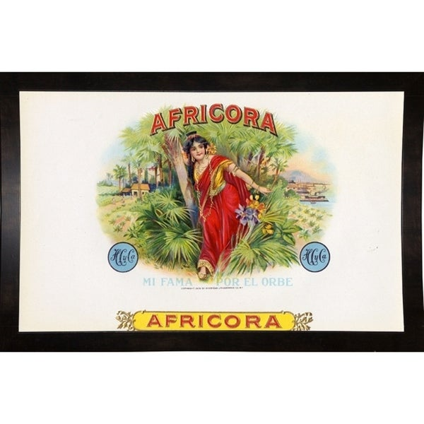 """Africora-ARTCIG64614 Print 14.5""""x23.25"""" by Art of the Cigar"""