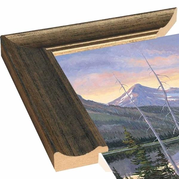 "Heavy Shield-ALLJIM98517 Print 23.25""x39"" by Allen Jimmerson"