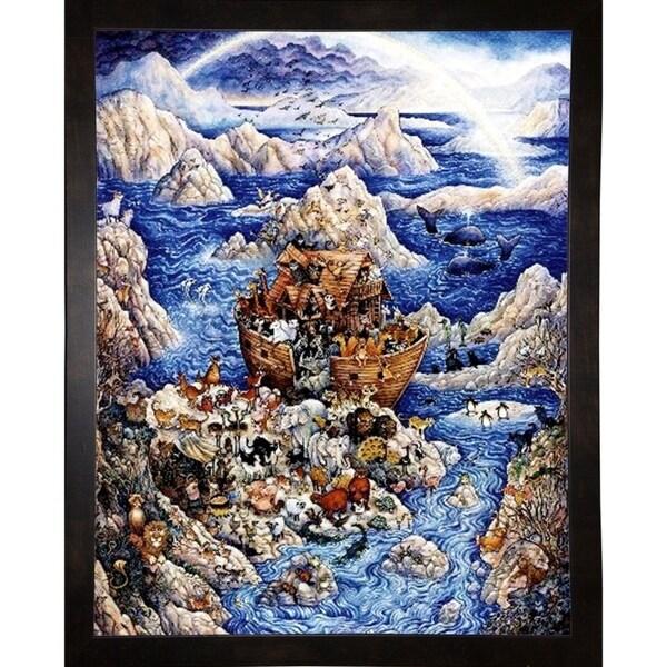 "Blue Ark-BILBEL231 Print 40.25""x32.75"" by Bill Bell"