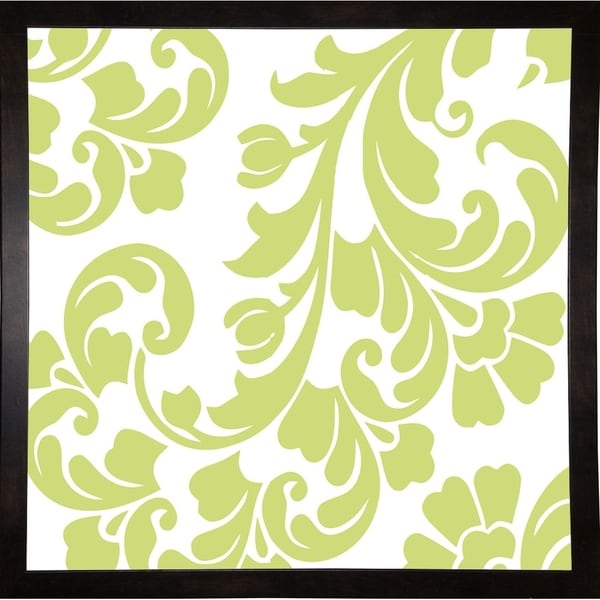 """Calyx Damask-COLBAK117911 Print 25""""x25"""" by Color Bakery"""