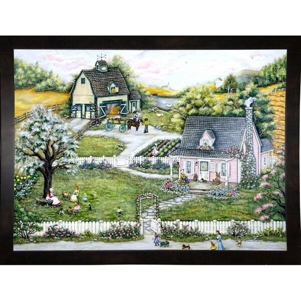 """A Story At Grandmas-ANNSTO30240 Print 20""""x28"""" by Ann Stookey"""