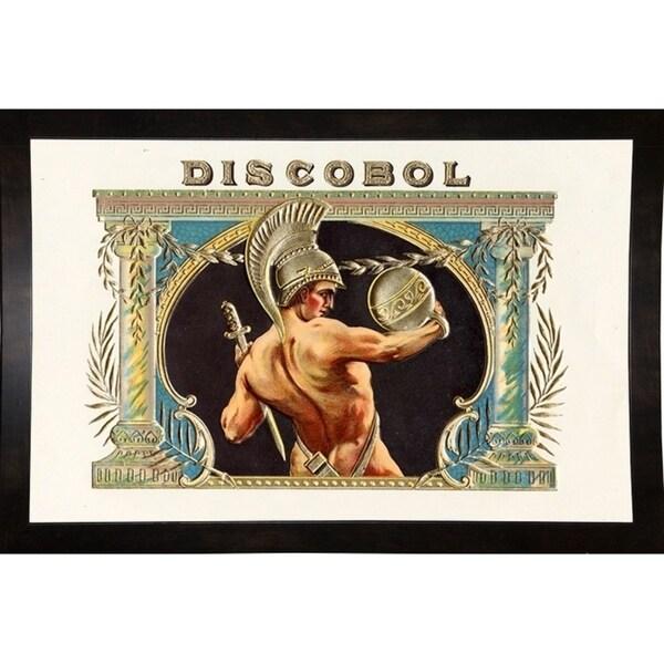 "Discobol-ARTCIG63660 Print 16""x21.75"" by Art of the Cigar"