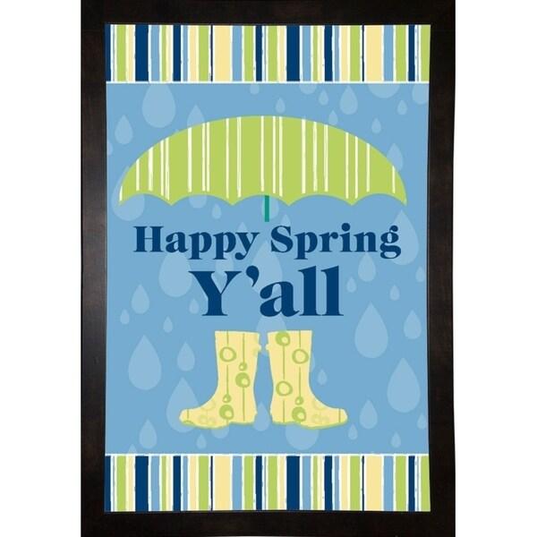 "Happy Spring Y'all-MELPAR114168 Print 18.5""x13.25"" by Melanie Parker"
