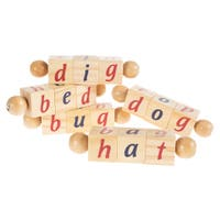 Twist Blocks Wooden Alphabet Letters Hey! Play!