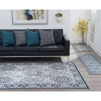 Alise Rugs Majolica Traditional Oriental Three Piece Set