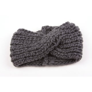 Chunky Knit Turban Headband Ear Warmer 904HB