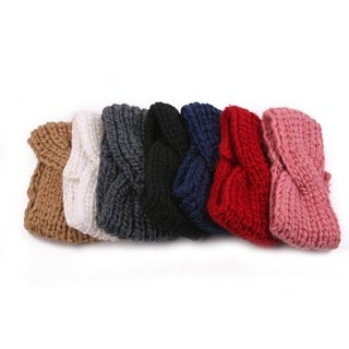 Chunky Knit Turban Headband Ear Warmer 904HB