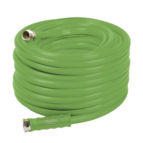 Martha Stewart MTS-APGH100 Heavy-Duty Max Flow All Purpose Garden Hose
